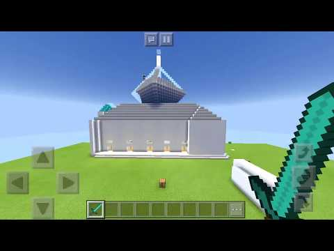 Showcase Masjid Buatanku (minecraft indonesia)