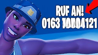 I put my HANDY NUMBER in my FORTNITE NAME and that happened..! ( INCREDIBLE )