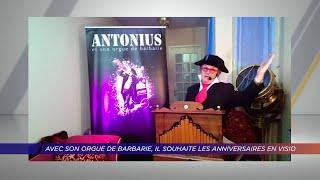 Yvelines | Avec son orgue de barbarie, il souhaite les anniversaires en visio