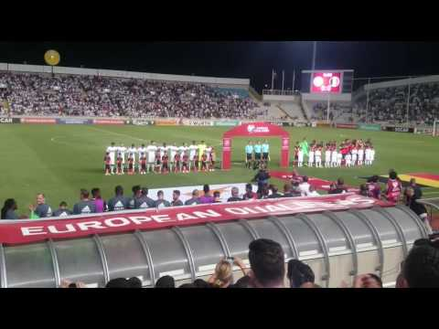 National team entry Cyprus vs Belgium