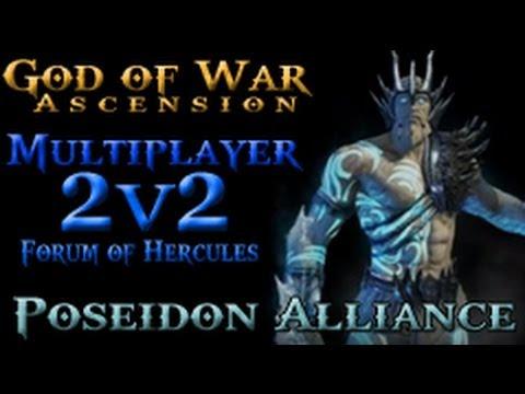 God of War Ascension Multiplayer | Poseidon Alliance | 2v2 ...