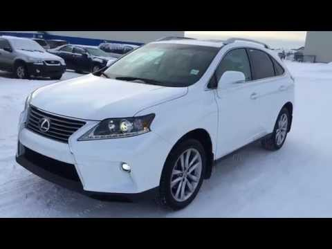 New White on Parchment 2015 Lexus RX 350 AWD Touring Package Review - West Edmonton, Alberta