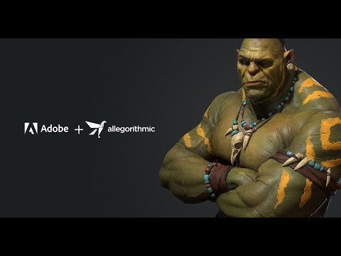 Adobe + Allegorithmic: The Next Generation of 3D Editing and Content Creation