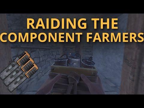 RAIDING THE RICH COMPONENT FARMERS! - Co-op Survival #12
