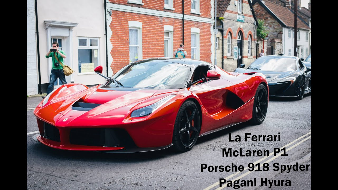 supercar street race laferrari mclaren p1 and porsche 918 youtube #1: maxresdefault
