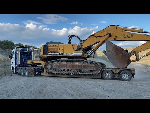 transporting-the-liebherr-964-excavator---fasoulas-heavy-transports
