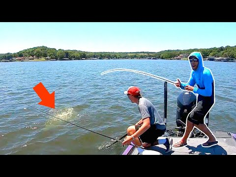 Unbelievable GIANT Catch from a MEGA SCHOOL of Fish!!!