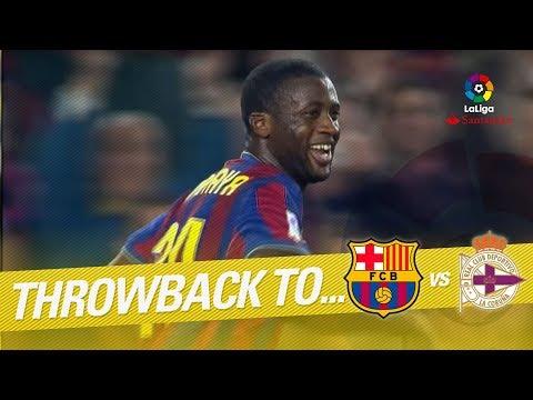 Resumen de FC Barcelona vs RC Deportivo (3-0) 2009/2010