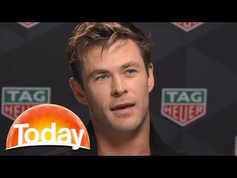 Chris Hemsworth talks Miley Cyrus, kids, and his new bromance