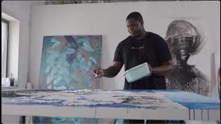 Studio Visit with Artist Khari Turner | Say It Loud | Christie's
