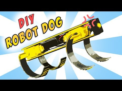 Robot Dog vs. Obstacle Course | DIY