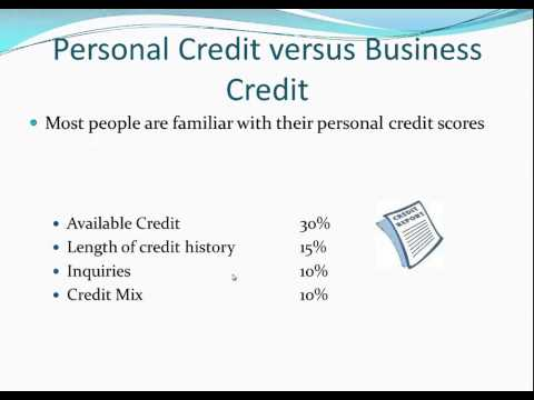 Build Excellent Business Credit Without  Personal Guarantee