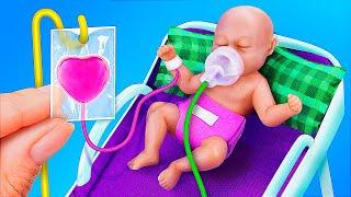12 Barbie and LOL Surprise DIYs / Doll Hospital Ideas