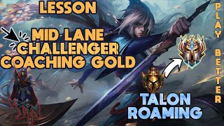 Challenger Coaching Gold Mid - Talon - Pro Commentary