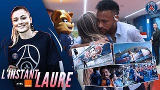 L'INSTANT LAURE : AU COEUR DU LANCEMENT MAILLOT THIRD - PARIS SAINT-GERMAIN vs STRASBOURG