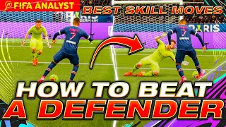 FIFA 21 META SKILL MOVES | HOW TO BEAT A DEFENDER | SCORE MORE GOALS | SKILL MOVES = FUT CHAMPS WIN!