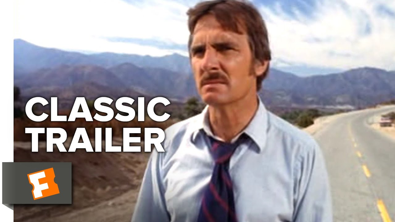 Duel (1971) Trailer | Starring: ‎Dennis Weaver | Old tank truck driven by an unseen driver