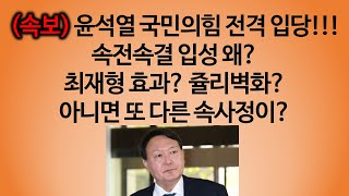 [송국건의 혼술] '여의도 정치' 몸담은 윤석열 1대 …