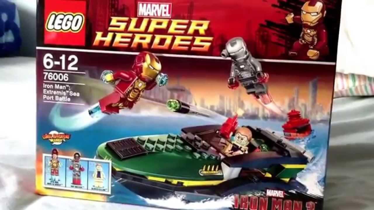 Lego marvel superheroes iron man extremis sea port battle - Lego iron man extremis sea port battle ...