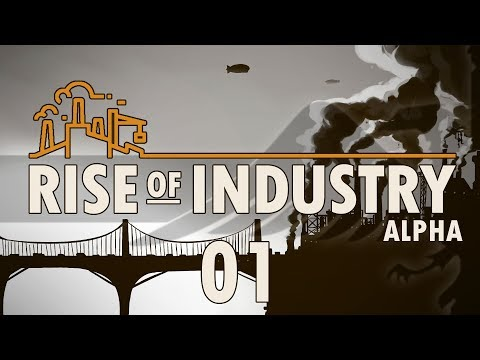 RISE OF INDUSTRY #01 CIDER - Rise of Industry Alpha 2 Gameplay / Let's Play