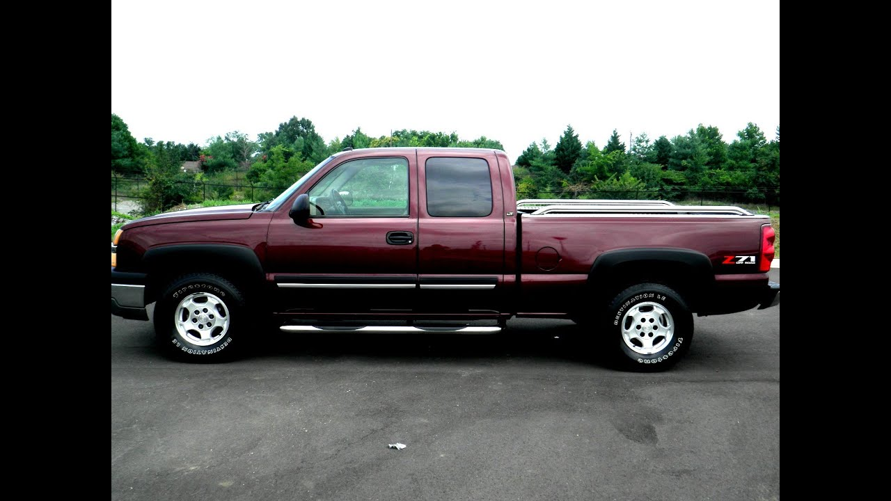 sold 2003 chevrolet silverado 1500 lt 4x4 ext cab 116k 5. Black Bedroom Furniture Sets. Home Design Ideas