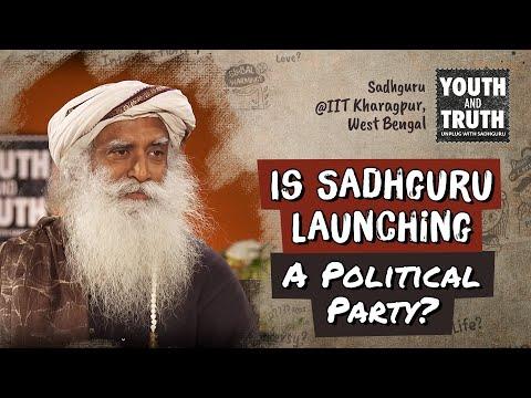 Is Sadhguru Launching A Political Party?