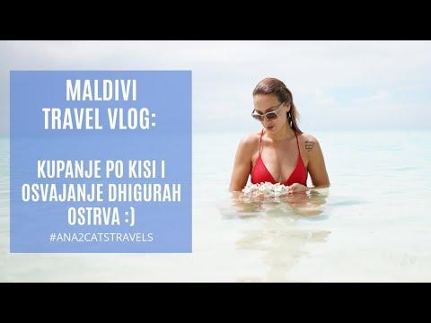 Maldivi vlog: Dhigurah, kupanje po kisi i osvajanje ostrva :)