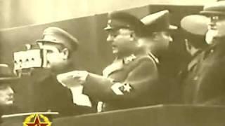7 ноября 1937г. Москва. Красная площадь. Военный парад.