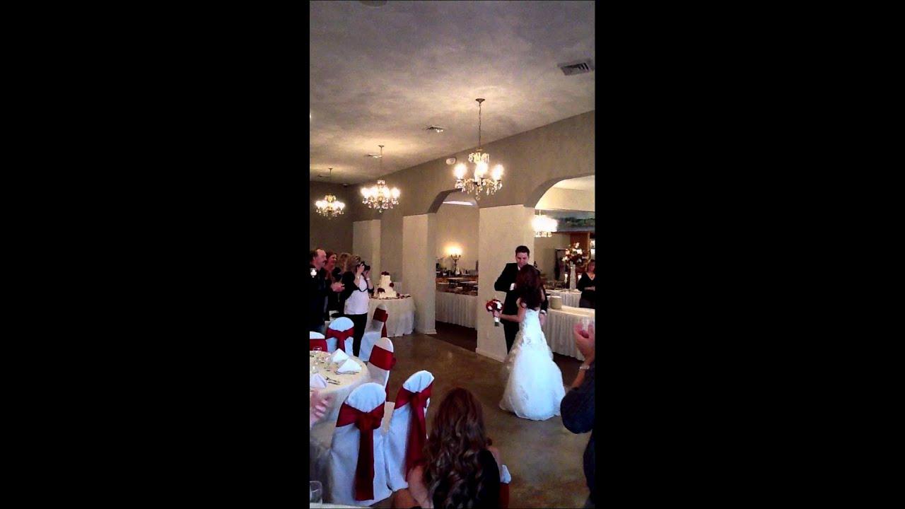 Romantic Wedding Reception Entrance Youtube
