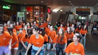 Flashmob Hauptbahnhof Saarbrücken 9 / 07.05.2011