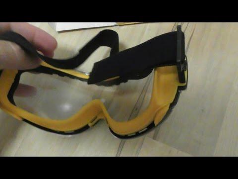 58633f68808 DEWALT DPG82-11 Concealer Clear Anti-Fog Dual Mold Safety Goggle REVIEW