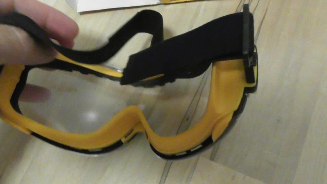 2026ca607d1 DEWALT DPG82-11 Concealer Clear Anti-Fog Dual Mold Safety Goggle REVIEW