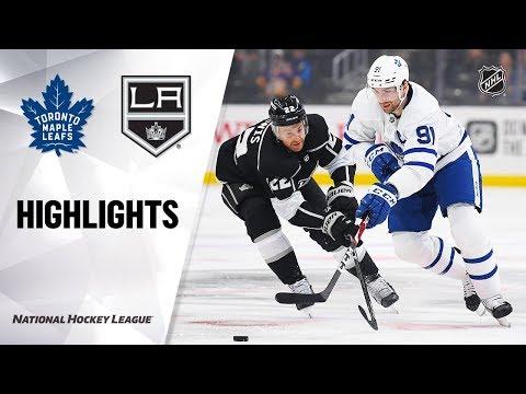 NHL Highlights | Maple Leafs @ Kings 03/05/20