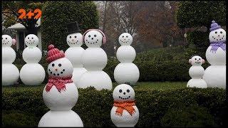 Різноманітні сніговики