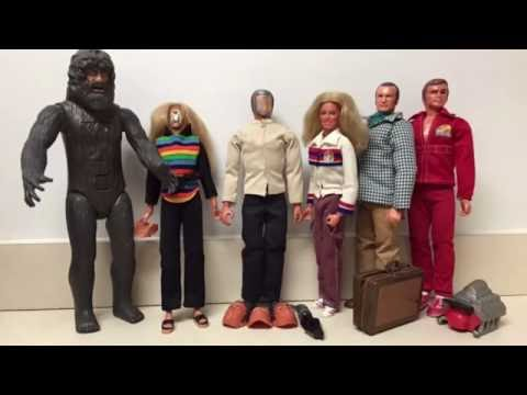 Six Million Dollar Man Action Figure Collection Show And Tell