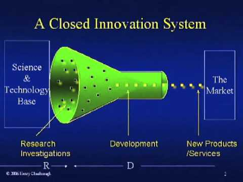 Henry Chesbrough explains the difference between Closed and Open Innovation