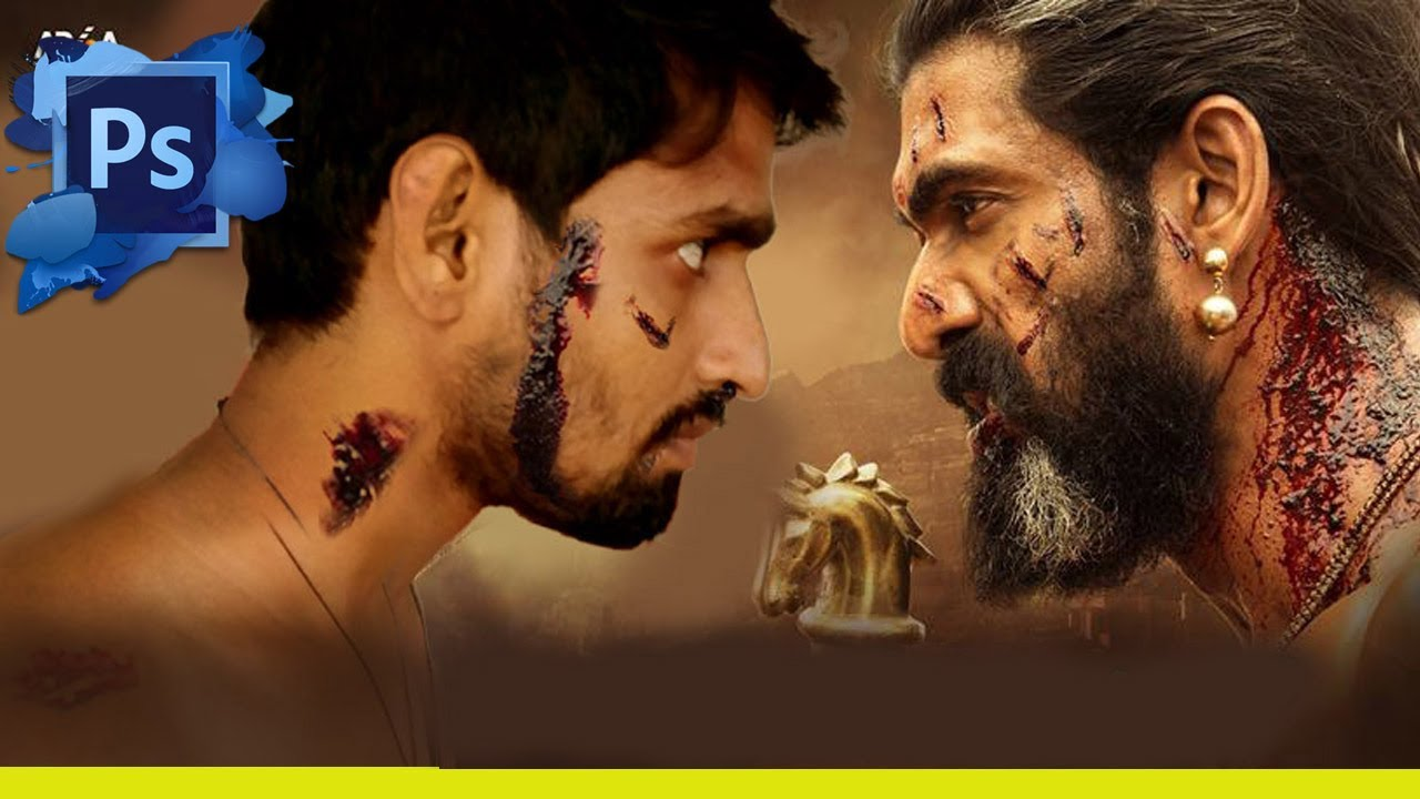 Bahubali Movie Poster Editing Cb Edit Photo Manipulation In