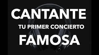 CANTANTE FAMOSA Audio 3D y 8D USAR AUDIFONOS Experiencia Auditiva Sonidos Reales PRIMER CONCIERTO