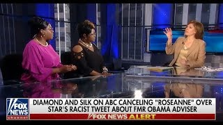Diamond and Silk thoughts about Roseanne Barr Tweet and Racism