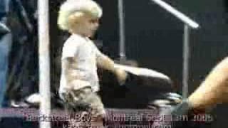 baylee dance with backstreet  boys