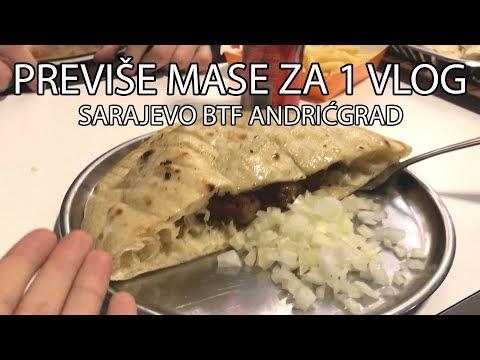 Previše Mase Za Jedan VLOG | Sarajevo BTF Andrićgrad