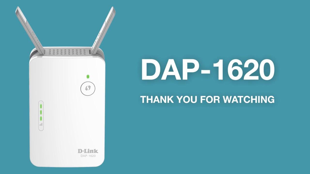 How to Set Up the AC1200 Wi-Fi Range Extender (DAP-1620)