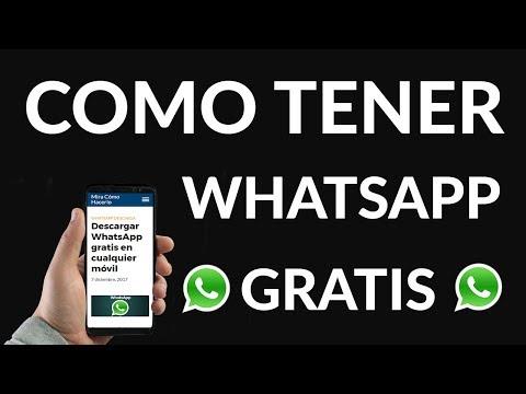 Descargar WhatsApp Gratis en Cualquier Móvil