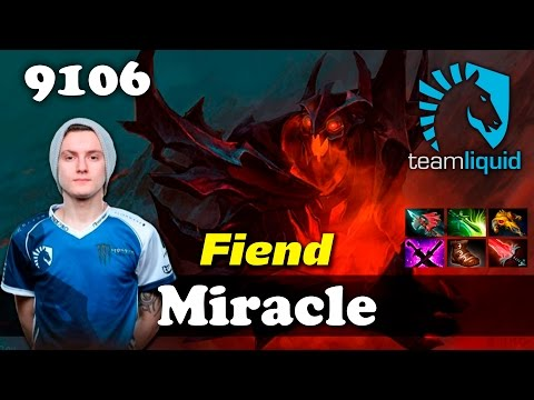 Miracle Nevermore | 9106 MMR Dota 2