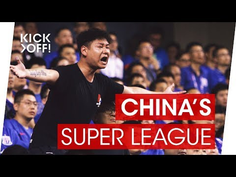 How super is the Chinese Super League? China's league goes shopping in Europe.