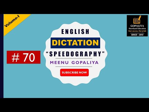 speedography-english-shorthand-dictation-70-|-80-wpm-|-gd-bist