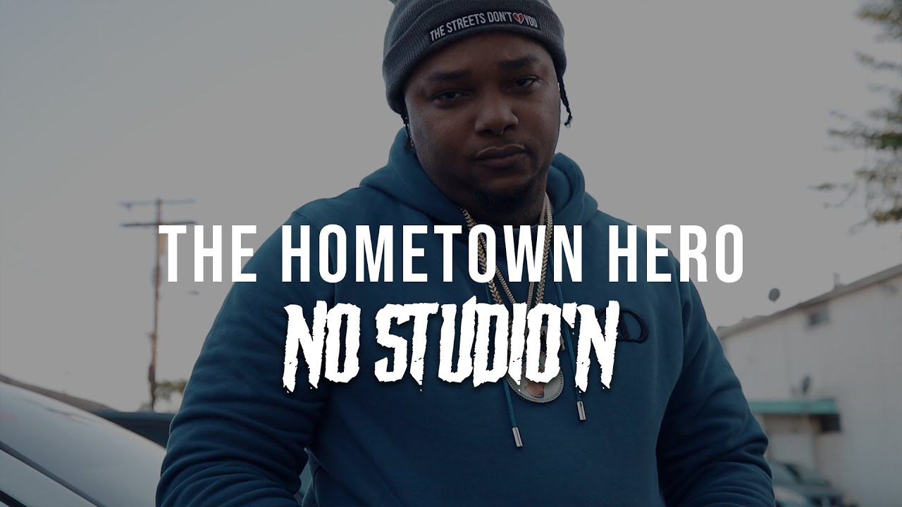 Geechi Gotti In his hood in Compton & Talks About Upcoming Battle versus Lux   No Studio'N Network