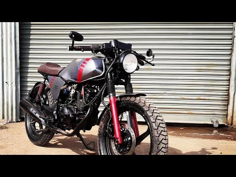 Modified Hero Honda CBZ Xtreme Into CafeRacer By Dochaki Custom  Motorcycle|Best Caferacer|MotoMahal
