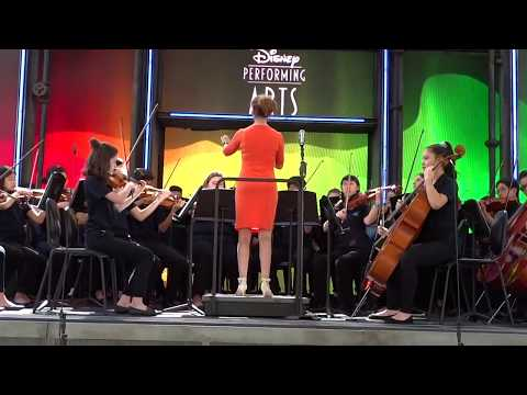 Colors of the Wind, Pacific Cascade Middle School Advanced Orchestra