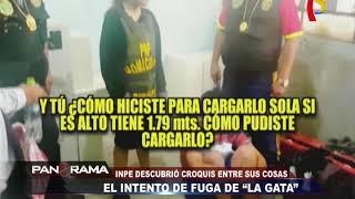 INPE: trasladan a 'La Gata' a penal de Junín por querer fugarse